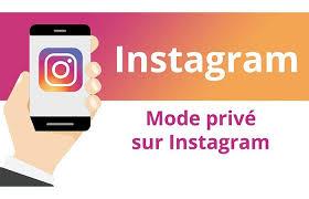 comment faire pour mettre son compte en privé sur Instagram