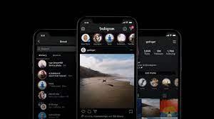 comment mettre le mode sombre sur Instagram Huawei