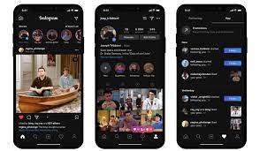 comment mettre le mode sombre sur Instagram Android