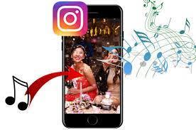 comment mettre une video sur Instagram avec de la musique