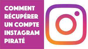 comment récupérer son ancien compte Instagram
